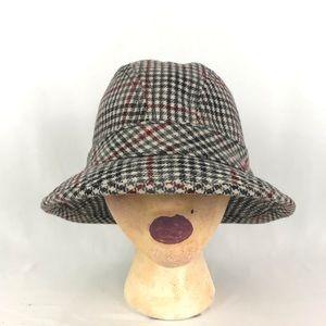 Vintage Pendleton Fedora Hat Pure Virgin Wool Sz M
